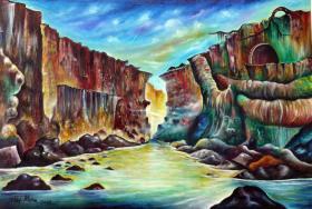 Pintura Eddy Mena
